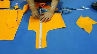 बेल्ट ब्लाउज़ BELT BLOUSE (PATTI WALA BLOUSE) WITH PIPPING