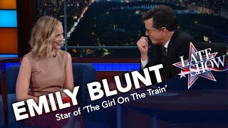 Emily Blunt: No One Wears Baseball Hats In England