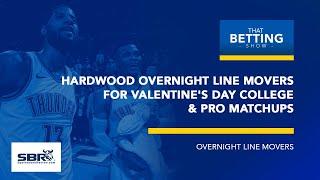 Overnight NBA Odds Report & Analysis | NCAAB Betting Odds | TBS, Feb 14th