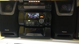 Mini system Panasonic AK20. Relíquia!!!