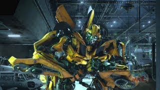 Transformers: The Ride 3D ride & queue experience at Universal Studios Hollywood [1080P HD]