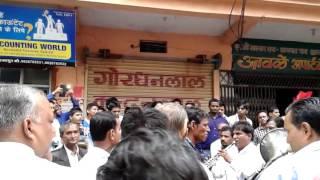 Shree Mahaveer band shajapur mahakal sawari