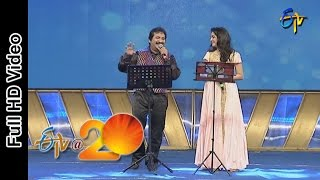 Mano and Sunitha Performs - Bhale Bhale Magadivoy Song in Vizag ETV @ 20 Celebrations
