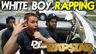 White Boy Rapping - Sour Cream Kid on Def Jam Rapstar