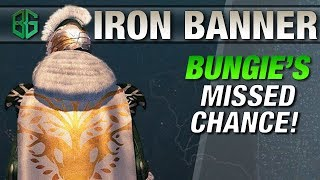 Why IRON BANNER is everything WRONG with Destiny 2 || Where are my Lore Tabs?!