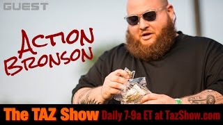 Action Bronson on F*ck That's Delicious – The Taz Show (January 19, 2017)