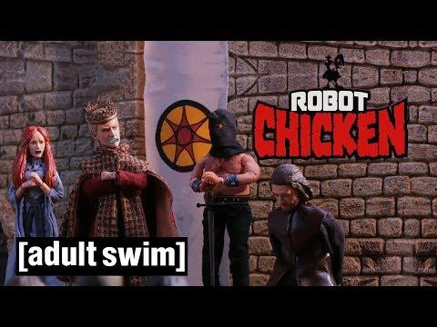 Robot Chicken The Best of Game of Thrones Adult Swim UK 🇬🇧