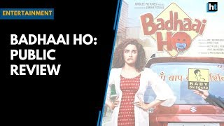 Badhaai Ho: People review Badhaai Ho after first day first show