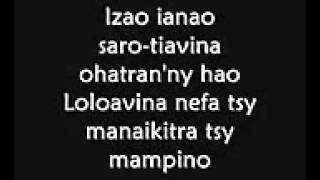 Gangsta'Bab   Dia Maninona Lyrics