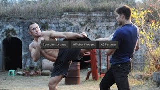 Kickboxing Vengeance first fight scene youtube 2017
