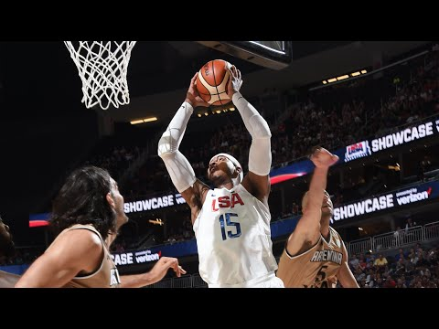 watch USA vs Argentina Exhibition Game Full Highlights