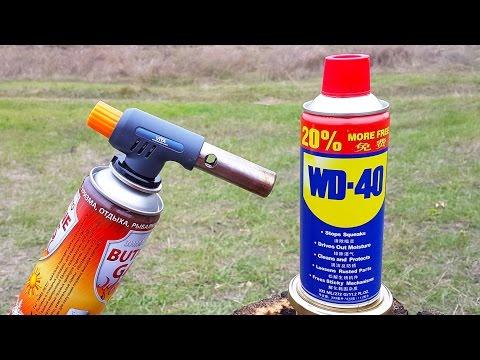 WD 40 VS GAS TORCH