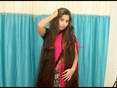 2 Minutes with Long Hair Beauty The Indian Rapunzel with Hair Play