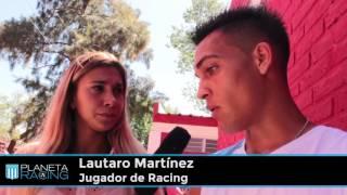 Planeta Racing TV:  Entrevista a Lautaro Martínez.