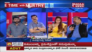 Sri Reddy Reveals Shocking Facts About Gayatri Gupta | #PrimeTimeWithMurthy