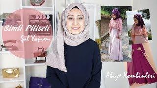 Simli Şal Bağlama | Hijab Tutorial |Abiye Modelleri