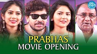 Prabhas Telugu Movie Opening || 2017 Latest Telugu Movies || iDream Filmnagar