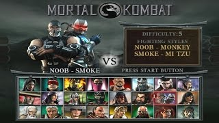 Mortal Kombat : Deception - Arcade Playthrough (PS2)