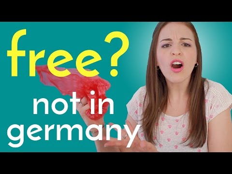 5 Things NOT FREE in Germany,
