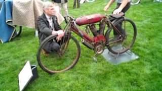 1908 Indian Torpedo Tank Motorcycle