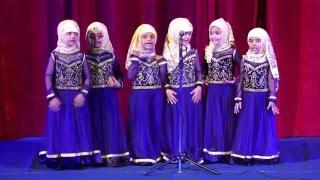 "A0025 Nasheed - Montessori kids on ""Since am Muslim"""