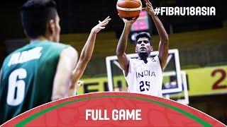 India v Iraq - Full Game - 2016 FIBA Asia U18 Championship