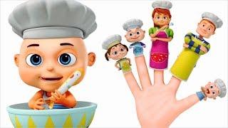 Chef Finger Family   Finger Family Song   Nursery Rhymes & Kids Songs