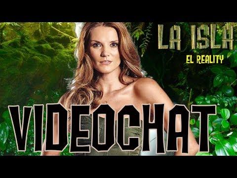 Maritere Alessandri en el Videochat La Isla 2013