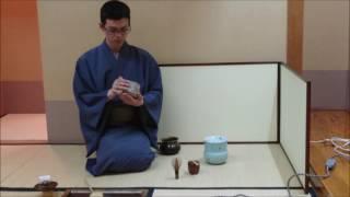 【表千家】茶筅通し -Japanese Tea Ceremony-