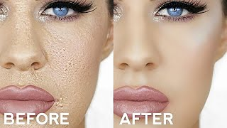 HOW TO STOP CAKEY FOUNDATION!! EASY TRICKS FOR PERFECT MAKEUP!