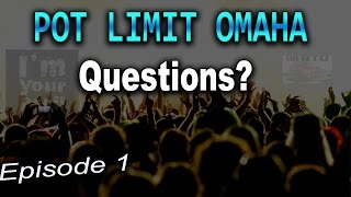 PLO Questions Episode 1  Beating Nits, Transitioning to PLO, My PLO Journey