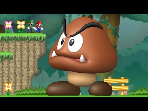 Xxx Mp4 Newer Super Mario Bros Wii Co Op Walkthrough Mini Mega Island 3gp Sex