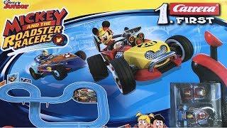 Carrera First Mickey and the Roadster Racer - der große Rennbahn Vergleich [Teil 1]