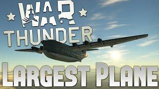 War Thunder - Largest Plane In War Thunder! - BV 238 German Boat Plane (War Thunder 1.63 Gameplay)