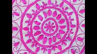 কিভাবে ভরাট সেলাই করে||Vhorat Stitch | Hand Embroidery Stitches|হাতের কাজ || সুতার কাজ