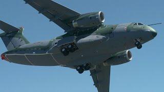 Embraer KC-390 Military Transport First Flight – AINtv