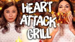 6 INSANE Heart Attack Grill Menu Items (Cheat Day)