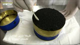 انتاج الكافيار بالسعودية - طعام الملوك | سناب الاحساء