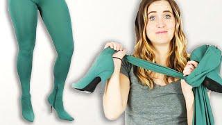I Tried High-Heeled Leggings