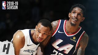 Los Angeles Clippers vs Memphis Grizzlies - Full Highlights | February 22, 2019 | 2018-19 NBA Season