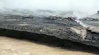 Danau Baru Tercipta Dari Hasil Erupsi Gunung Sinabung || KOMPILASI