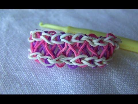 Как можно сделать браслеты из резинок без станка - Viptxt.Ru