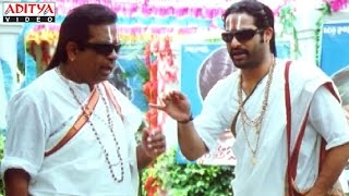 Judwa No1 Hindi Movie Brahmanandam & Ntr Best Comedy Scenes