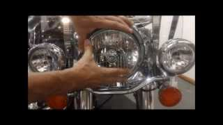 How to Cleaning bike Headlights