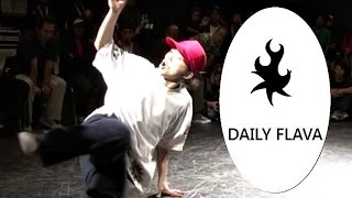 Bboy Wu tan and the art of foundation blowups. Daily Flava 21