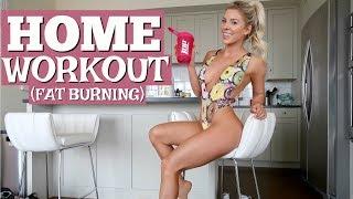 Home Workout (FAT BURNING)   Meet my butler