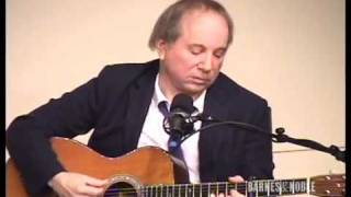 Paul Simon Performs The Only Living Boy in New York at B&N