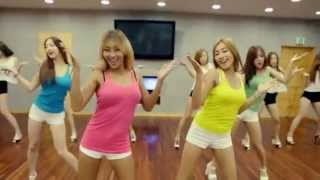 SISTAR 'Touch My Body' mirrored Dance Practice
