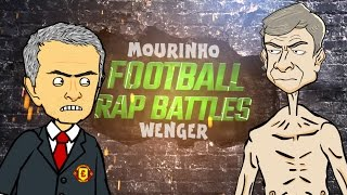 Mourinho vs Wenger - FOOTBALL RAP BATTLE! (Man Utd vs Arsenal 1-1 2016)