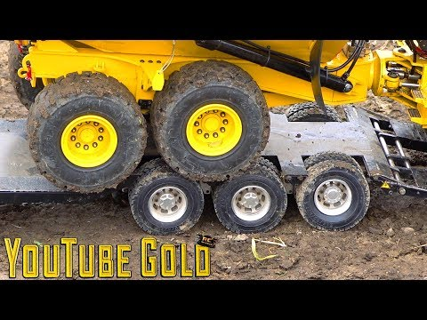 YouTube GOLD ROADS PAVED with GOLD A Miniature Mining Show s2 e9 RC ADVENTURES